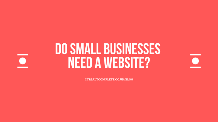 Do Small Businesses Need A Website?